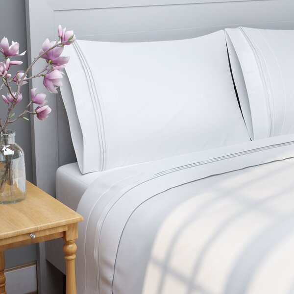 Patric 1000 Thread Count 100% Egyptian-Quality Cotton Sheet Set by The Twillery Co.